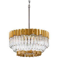 Charisma 20 inch Gold Leaf Pendant Ceiling Light