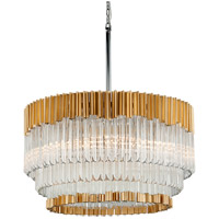 Charisma 26 inch Gold Leaf Pendant Ceiling Light
