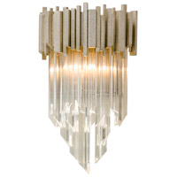 Mystique 10 inch Modern Silver Leaf Wall Sconce Wall Light