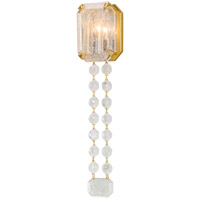 Corbett Lighting Alibi Wall Sconce - Gold Leaf Finish with Venetian Glass Shade 230-11