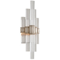Voila LED 7 inch Modern Silver Leaf ADA Wall Sconce Wall Light