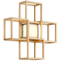 Corbett Lighting 242-12 Metropolis LED 15 inch Gold Leaf ADA Wall Sconce Wall Light