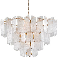 Piemonte 12 Light 43 inch Royal Gold Chandelier Ceiling Light
