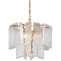 Corbett Lighting 244-44 Piemonte 4 Light 23 inch Royal Gold Chandelier Ceiling Light