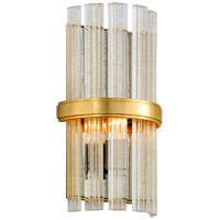 Symphony 1 Light 7 inch Gold Leaf ADA Wall Sconce Wall Light