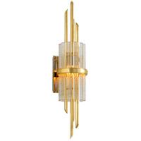 Corbett Lighting 257-12 Symphony 1 Light 7 inch Gold Leaf Wall Sconce Wall Light