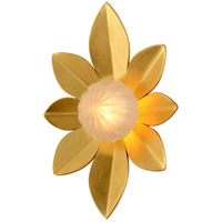Corbett Lighting 260-11 Gigi LED 11 inch Gold Leaf Wall Sconce Wall Light
