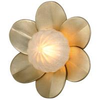 Corbett Lighting 261-12 Gigi LED 10 inch Silver Leaf Wall Sconce Wall Light