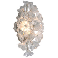 Silver Leaf Iron Wall Sconces