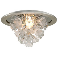 Corbett Lighting 269-31 Jasmine LED 22 inch Silver Leaf Flush Mount Ceiling Light
