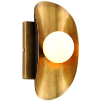 Corbett Lighting 271-11 Hopper 1 Light 5 inch Vintage Brass and Bronze ADA Wall Sconce Wall Light