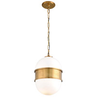 Corbett Lighting 272-42 Broomley 2 Light 14 inch Vintage Brass Pendant Ceiling Light