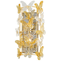 Corbett Lighting 279-12 Milan 2 Light 9 inch Gold Leaf Wall Sconce Wall Light
