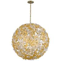 Corbett Lighting 279-412 Milan 12 Light 40 inch Gold Leaf Pendant Ceiling Light