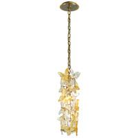Corbett Lighting 279-41 Milan 1 Light 5 inch Gold Leaf Pendant Ceiling Light