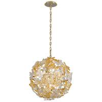 Corbett Lighting 279-46 Milan 6 Light 20 inch Gold Leaf Pendant Ceiling Light