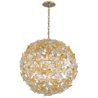 Corbett Lighting 279-48 Milan 8 Light 30 inch Gold Leaf Pendant Ceiling Light