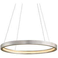 Corbett Lighting 285-42 Jasmine LED 36 inch Silver Leaf Pendant Ceiling Light Circular Frame
