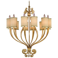 Corbett Lighting Pinot 12 Light Chandelier in Silver Leaf 32-012