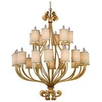 Corbett Lighting Pinot 24 Light Chandelier in Silver Leaf 32-024