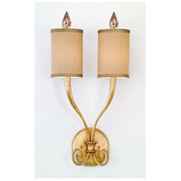 Corbett Lighting Pinot 2 Light Wall Sconce in Silver Leaf 32-12