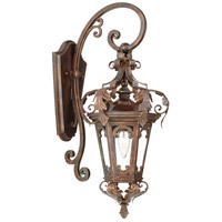Corbett Lighting Regency 1 Light Outdoor Wall Lantern in Regency Bronze 34-21
