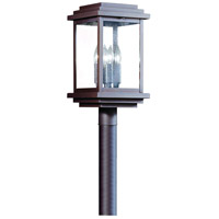 Corbett Lighting La Jolla 4 Light Outdoor Post Lantern in Old Bronze 3447-1-02