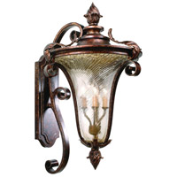 Corbett Lighting Pirouette 3 Light Outdoor Wall Lantern in Venetian 35-22