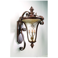 Corbett Lighting Pirouette 4 Light Outdoor Wall Lantern in Venetian 35-23
