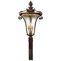 Corbett Lighting Pirouette 3 Light Outdoor Post Lantern in Venetian 35-82