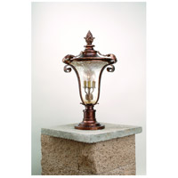 Corbett Lighting Pirouette 4 Light Outdoor Post Lantern in Venetian 35-83