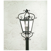 Corbett Lighting Vineyard Hill 4 Light Outdoor Post Lantern in Country Rust 4574-14-02