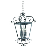 Corbett Lighting Vineyard Hill 8 Light Outdoor Hanging Lantern in Country Rust 4597-14-02