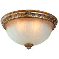 Corbett Lighting L Opera 4 Light Flush Mount in Renaissance Gold 50-34