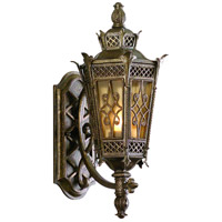 Corbett Lighting Avignon 1 Light Outdoor Wall Lantern in Avignon Bronze 58-21