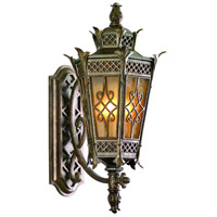 Corbett Lighting Avignon 3 Light Outdoor Wall Lantern in Avignon Bronze 58-22