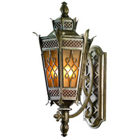 Corbett Lighting Avignon 1 Light Wall Lantern Fluorescent in Avignon Bronze 58-23-F
