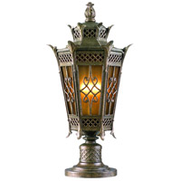 Avignon 3 Light 27 inch Avignon Bronze Outdoor Post Lantern