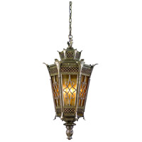 Corbett Lighting Avignon 4 Light Outdoor Hanging Lantern in Avignon Bronze 58-93
