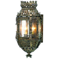 Corbett Lighting Montrachet 2 Light Outdoor Wall Lantern in Montrachet Bronze 59-21