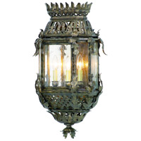 Corbett Lighting Montrachet 3 Light Outdoor Wall Lantern in Montrachet Bronze 59-22