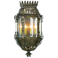 Corbett Lighting Montrachet 4 Light Outdoor Wall Lantern in Montrachet Bronze 59-23