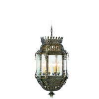 Corbett Lighting Montrachet 8 Light Outdoor Hanging Lantern in Montrachet Bronze 59-93