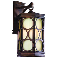 Corbett Lighting Holmby Hills 1 Light Outdoor Wall Lantern Fluorescent in Holmby Hills Bronze 61-23-F