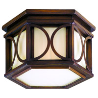 Holmby Hills 2 Light 14 inch Holmby Hills Bronze Outdoor Flush Mount