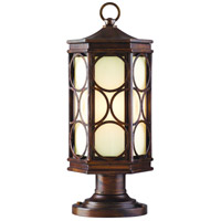 Corbett Lighting Holmby Hills 1 Light Outdoor Post Lantern Fluorescent in Holmby Hills Bronze 61-83-F