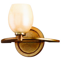 Corbett Lighting Cirque 1 Light Bath in Champagne Leaf 62-61