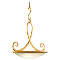 Corbett Lighting Dauphine 5 Light Pendant in Gold Leaf 68-45
