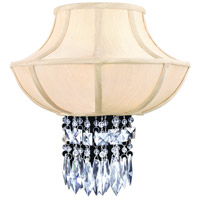 Corbett Lighting Cascade 2 Light Wall Sconce in Polished Chrome 70-12 photo thumbnail