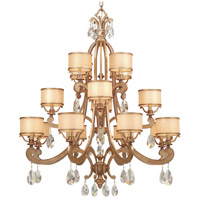 Corbett Lighting Roma 16 Light Chandelier in Antique Roman Silver 71-016